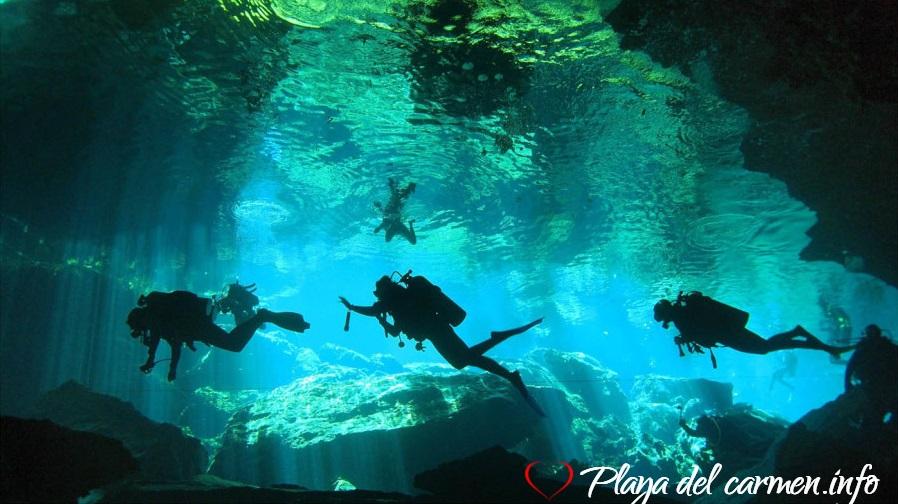 Actividades en cenotes