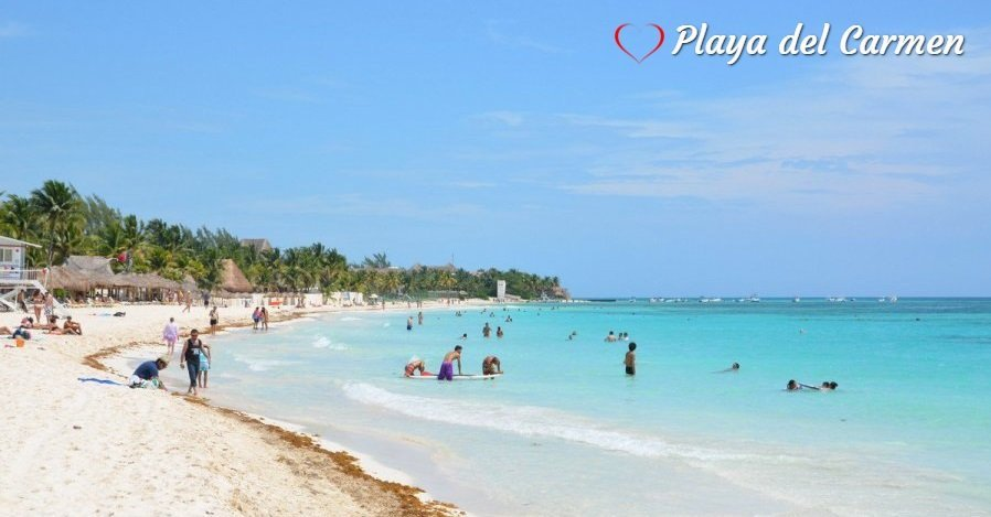Playas Publicas en Playa del Carmen