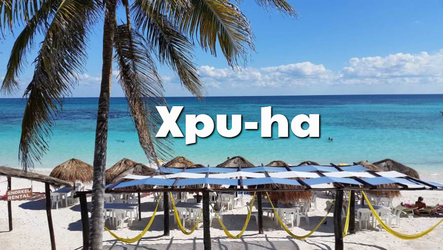 Playas Xpu-ha