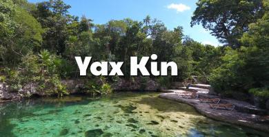 Cenote Yax Kin aguas cristalinas Riviera Maya