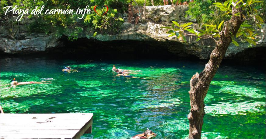 Cenote Azul Paraíso Natural Playa del Carmen