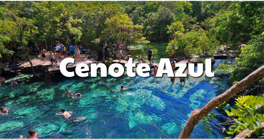 Cenote Azul Rivera Maya