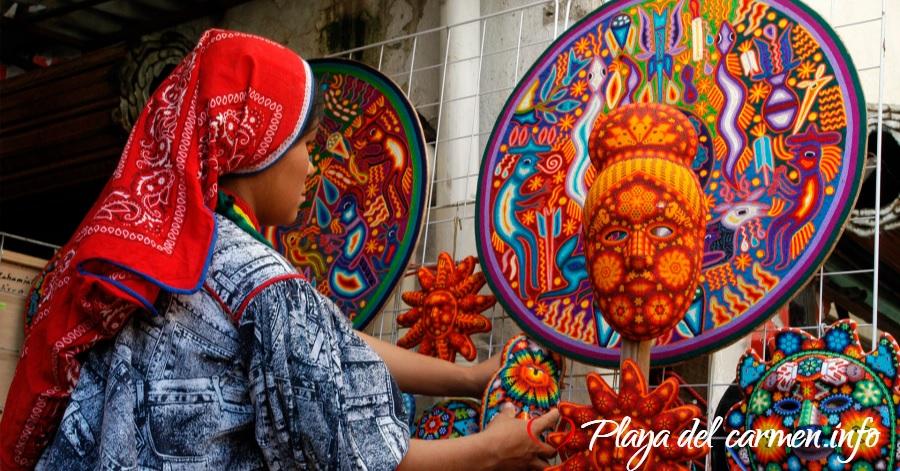 Conoce el arte Huichol
