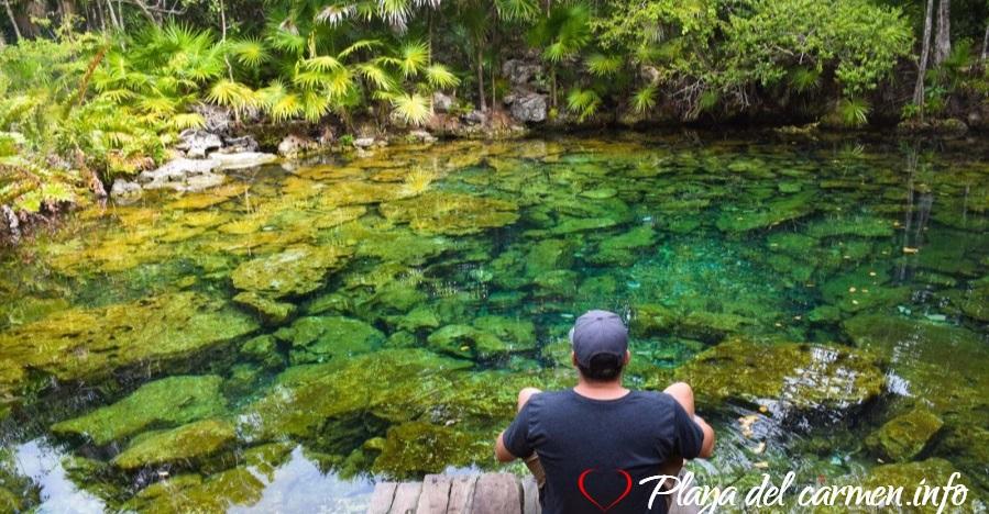 Cenote Caleta Tankah