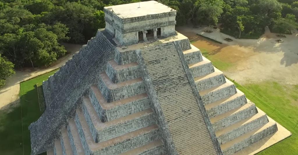 Ruinas Mayas en Chichen Itza