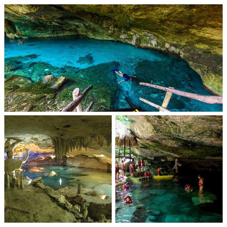 Cuevas y grutas Kantun Chi