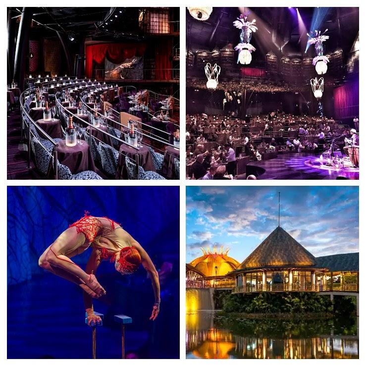Ven y disfruta de Cirque du soleil JOYA