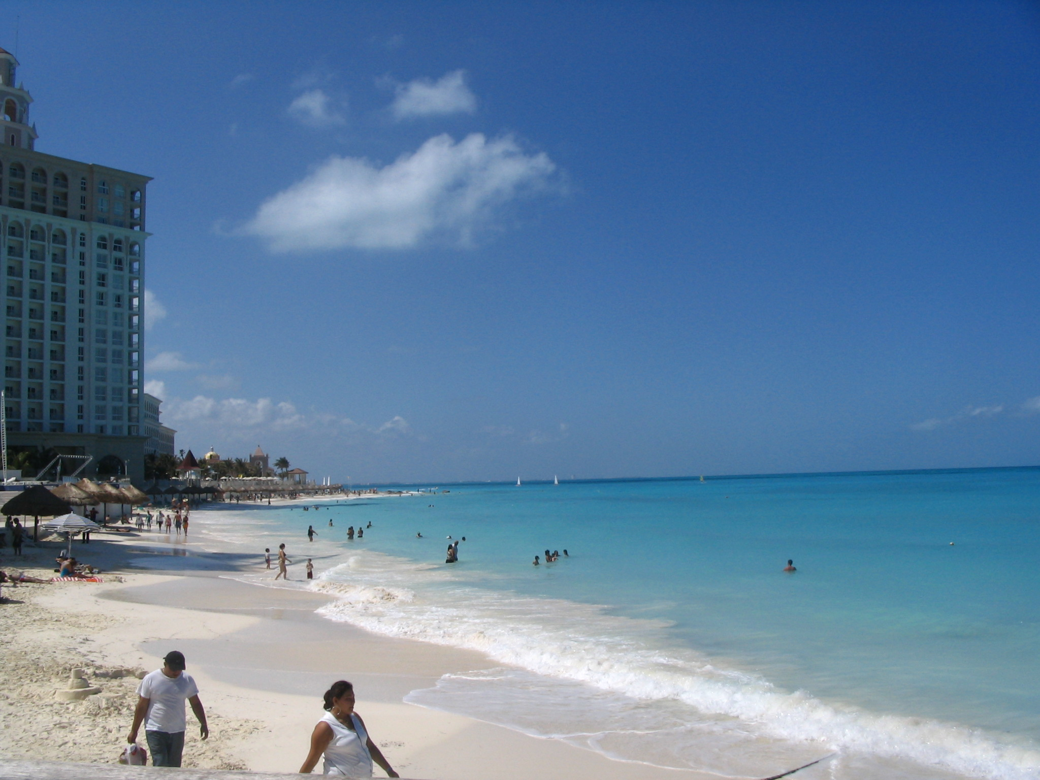 Playa Caracol en Cancun