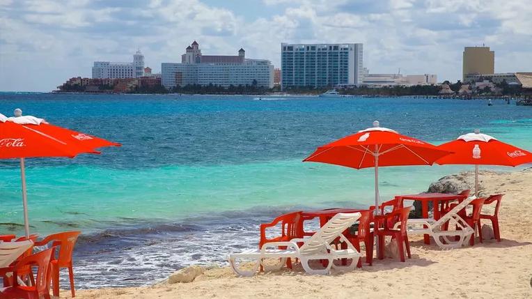 Playa Tortugas en Cancun
