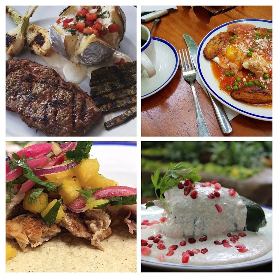 inspiración mexicana para las tres comidas del día