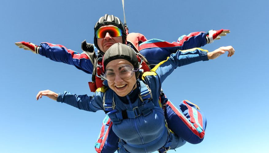 Salto Tandem en paracaídas en Playa del Carmen