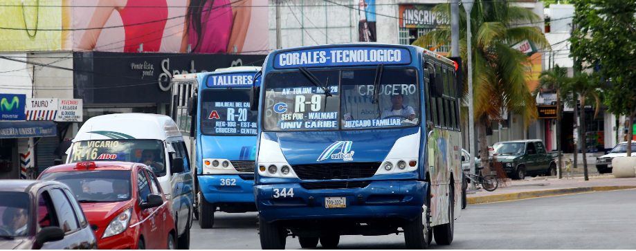 Transporte en Cancun