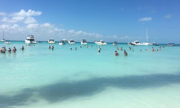 Isla Mujeres en la maravillosa Playa Norte
