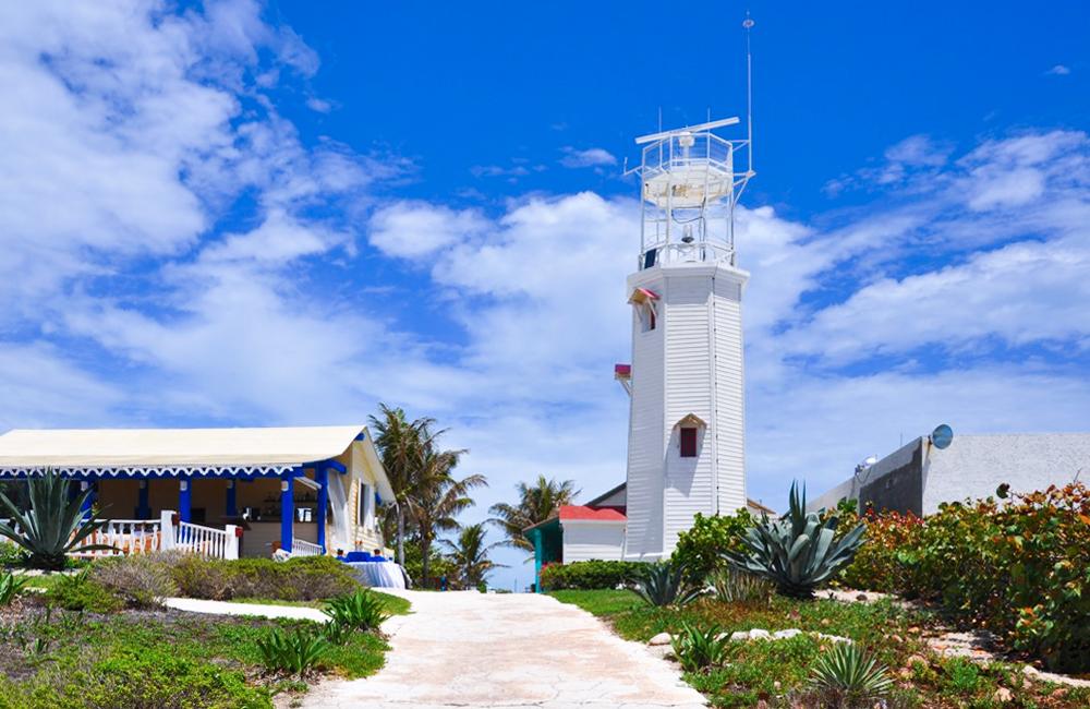 Faro Punta Sur en Isla Mujeres