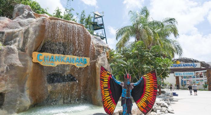 Parque Chankanaab en Cozumel