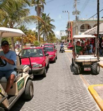 Transporte en Isla Mujeres