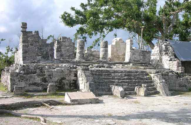 Las Ruinas Mayas de San Gervasio en Cozumel