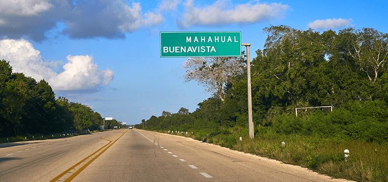 ¿Cómo llegar a Mahahual?