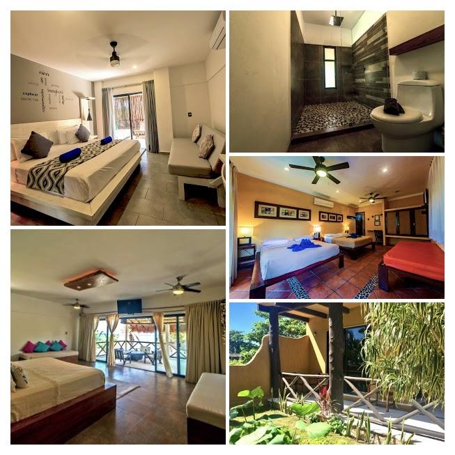Hotel Luna De Plata está ubicado en la Costa Maya