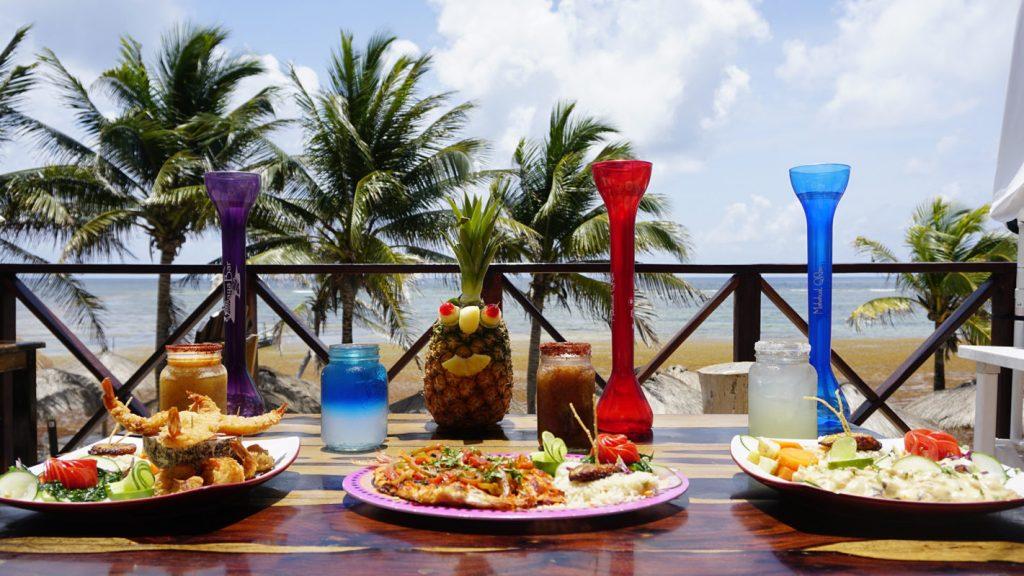 Gastronomía en Mahahual