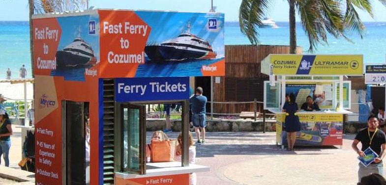 Como llegar a la Terminal del Ferry en Playa del Carmen