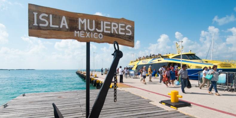 Como llegar a Isla Mujeres