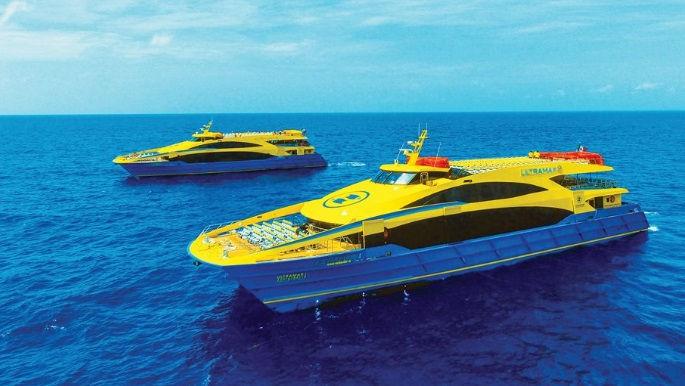 Precios y horarios del Ferry para Isla Mujeres.