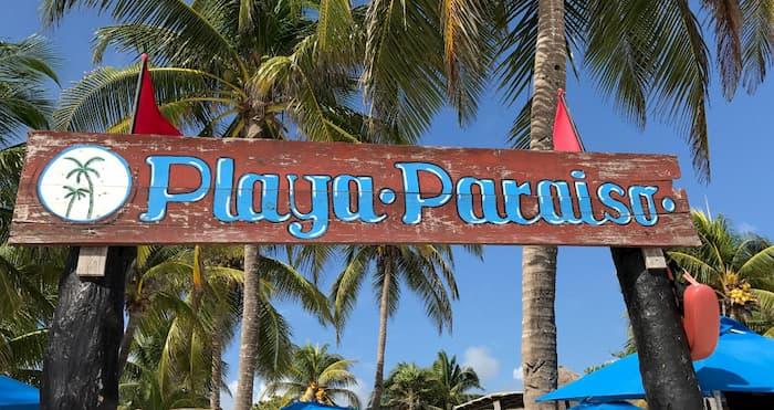 Donde comer playa paraiso