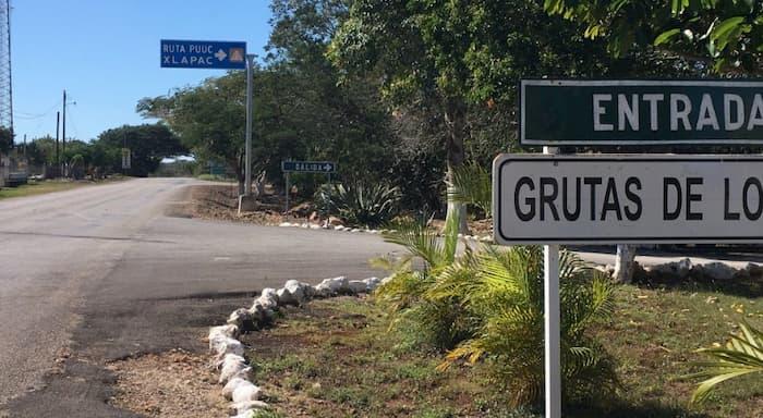 Grutas de Loltun en Yucatan. Ruta Puuc