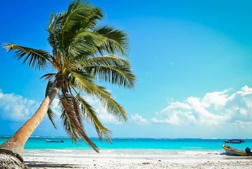 Playa Paraiso en Tulum (Mexico)