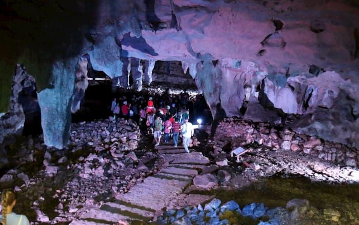 Tour grutas de loltun
