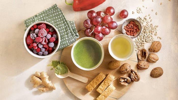 Alimentos asombrosos para el antienvejecimiento